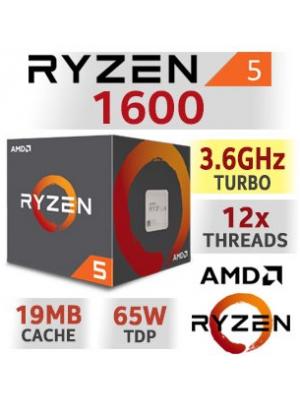PROCESADOR AMD RYZEN 5 1600 AM4 - 5% para pago en efectivo