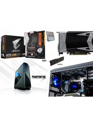 COMPUTADOR  PC GAMER SUPER COMBO RYZEN 1700X 5% OFF PAGO EN EFECTIVO