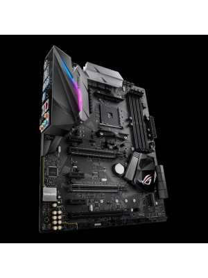 BOARD ASUS ROG STRIX X370-F GAMING AMD AM4 - 5% PAGO EN EFECTIVO