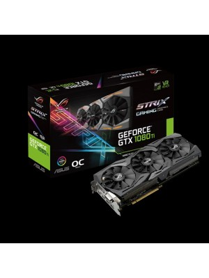 TARJETA DE VIDEO ASUS ROG STRIX GTX 1080 TI 11 GB DDR5 GAMING 5% OFF PARA PAGO EN EFECTIVO