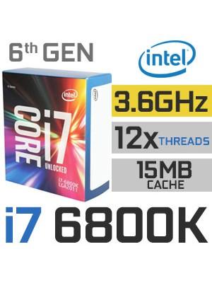 PROCESADOR INTEL CORE i7 6800K (3.40GHz)  - 5% para pago en efectivo