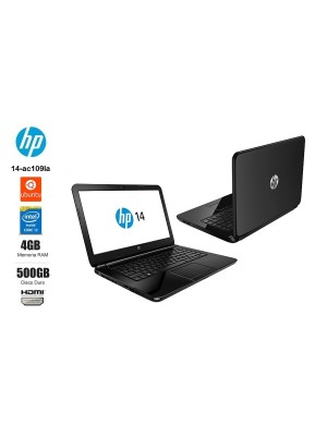 HP 14-AC109LA INTEL CORE I3 5005U - 500GB - 4GB DDR3L - 14""