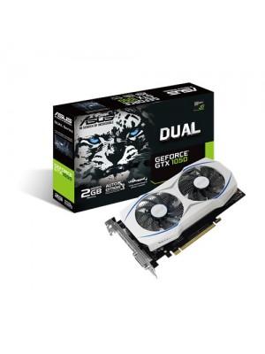 TARJETA DE VIDEO ASUS GFORCE GTX 1050 2GB DDR5 DUAL  5% OFF PARA PAGO EN EFECTIVO