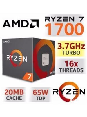 PROCESADOR AMD RYZEN 7 1700 AM4 - 5% para pago en efectivo